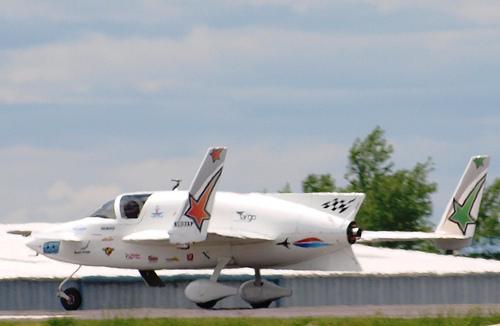 X-Racer Tail II Landing